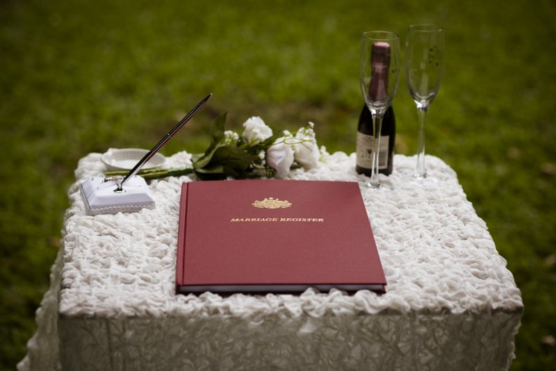Small wedding package refreshments
