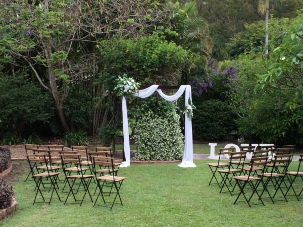 Small Wedding Package styling