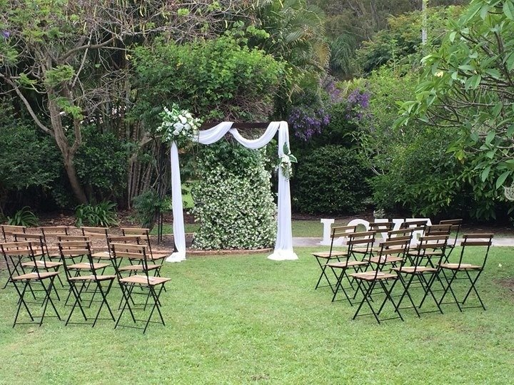 Garden Ceremony styling packages